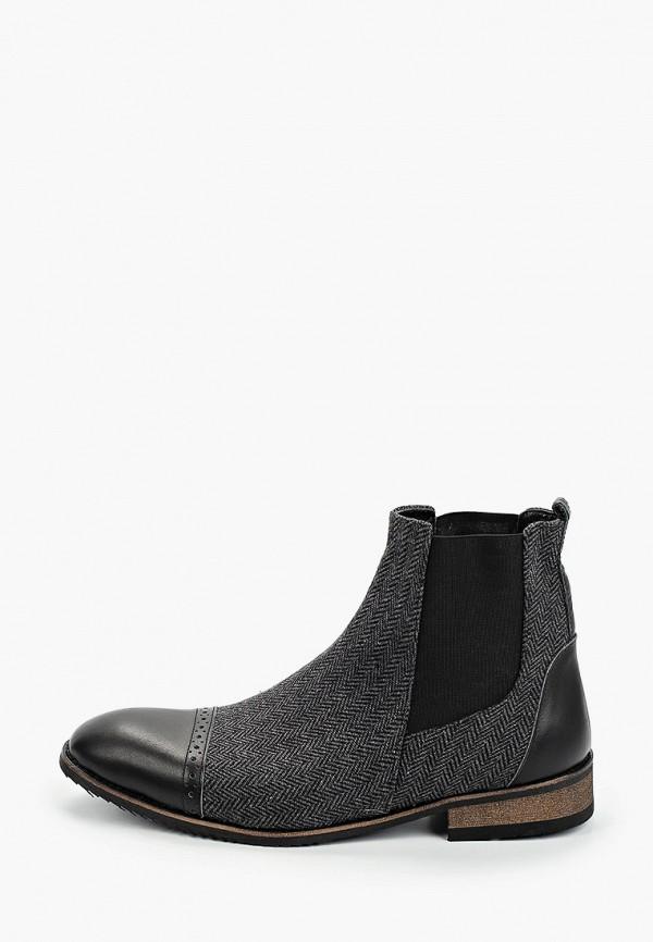 мужские ботинки tamboga, серые