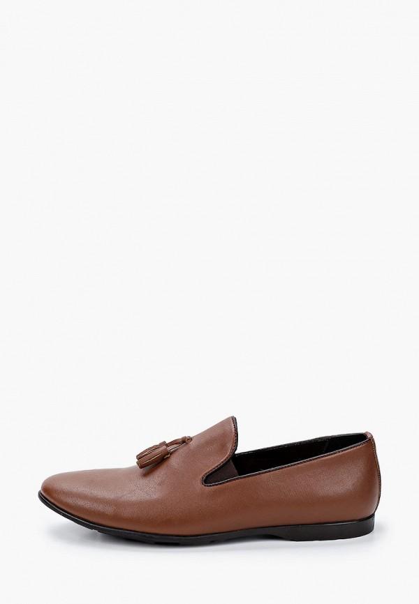 мужские лоферы tamboga, коричневые