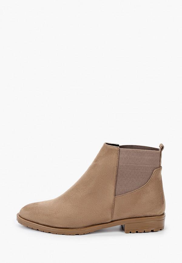 женские ботинки tamboga, бежевые