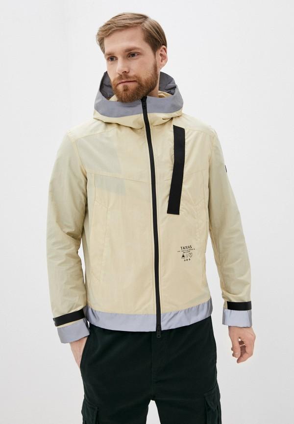 мужская куртка tatras, бежевая