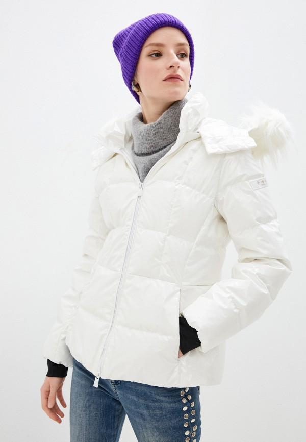 женский пуховик tatras, белый