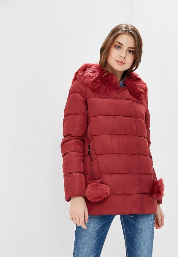 Купить Куртка утепленная Tantra, ta032ewafxx2, бордовый, Весна-лето 2018