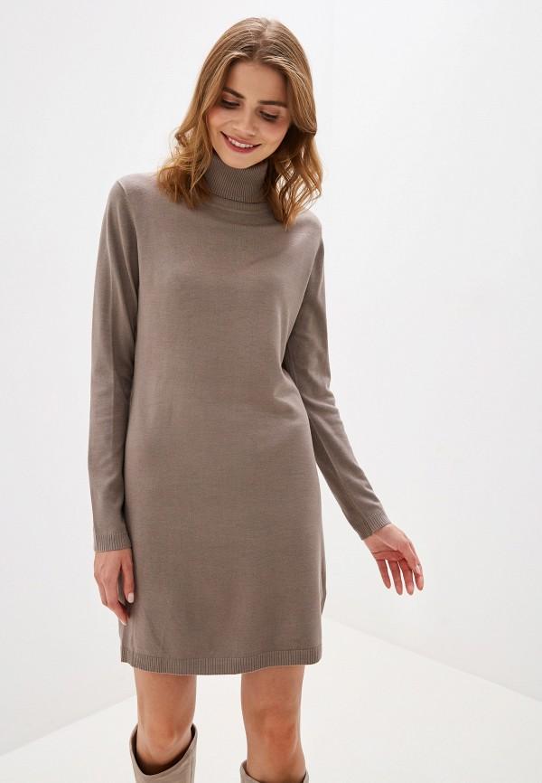 женское платье tantra, коричневое