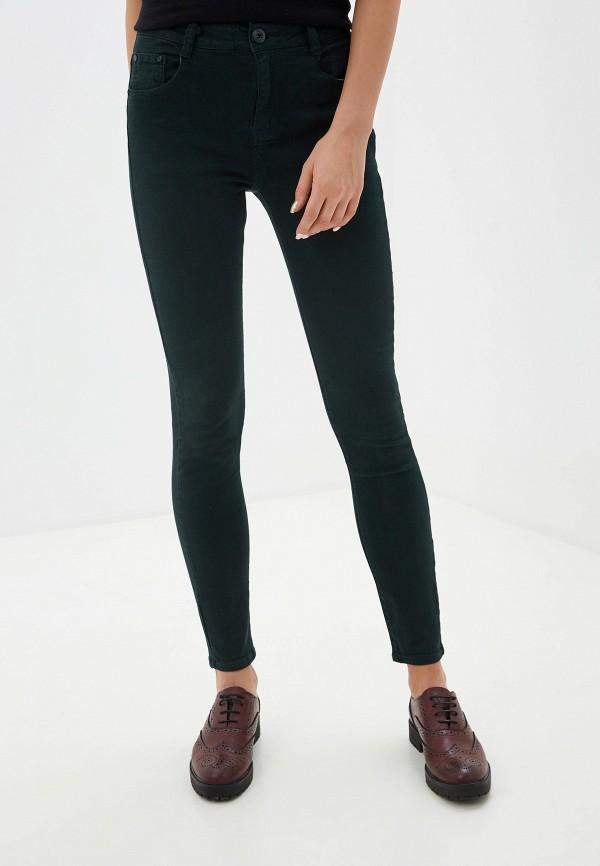 женские повседневные брюки tantra, зеленые