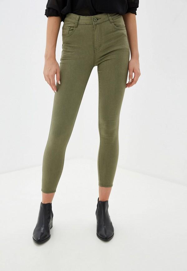 женские повседневные брюки tantra, хаки