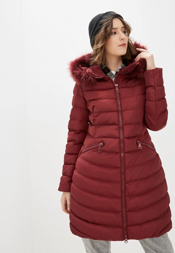 женская куртка tantra, бордовая