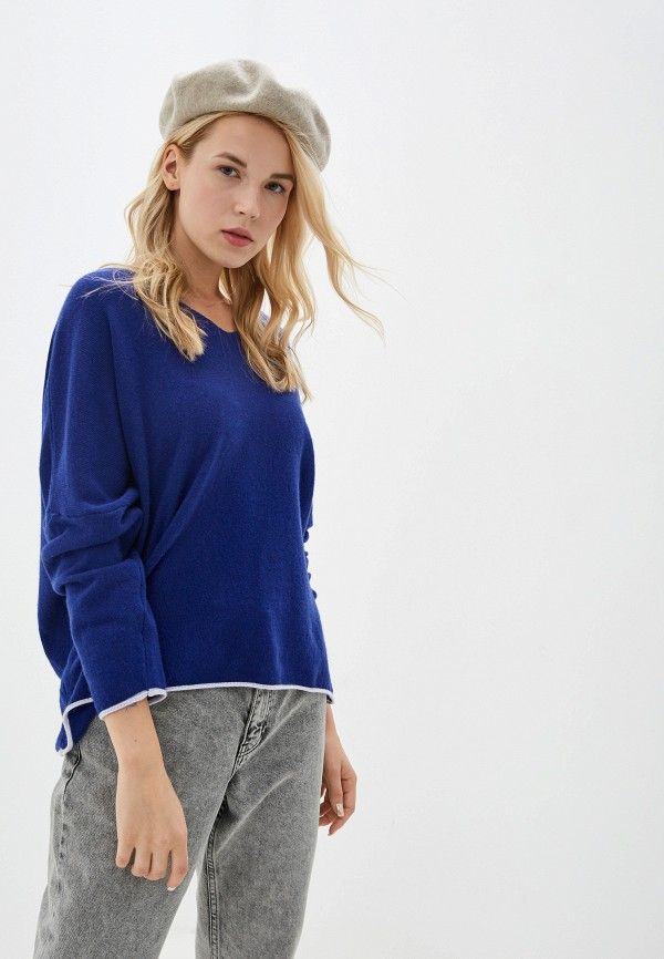 женский пуловер tantra, синий