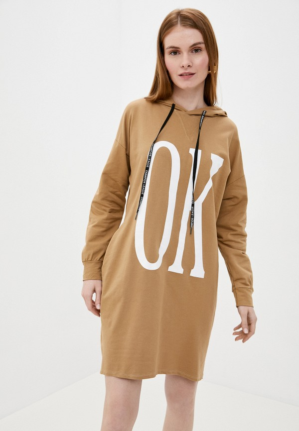 женское платье tantra, бежевое