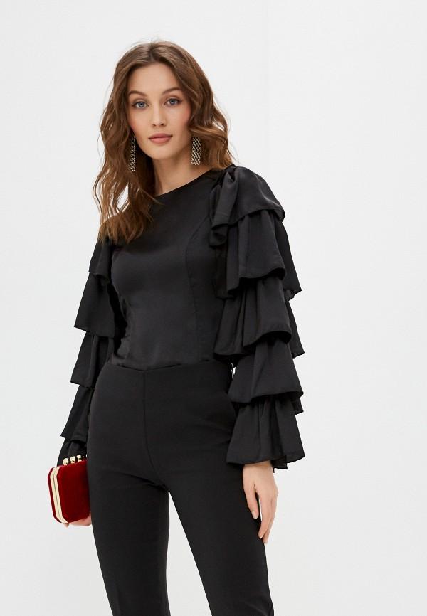 женская блузка tantra, черная