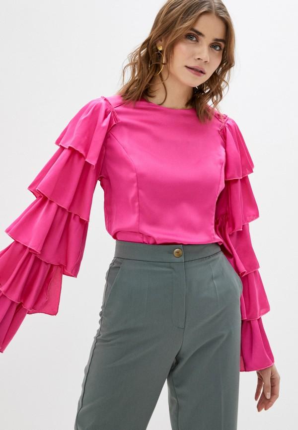 женская блузка tantra, розовая