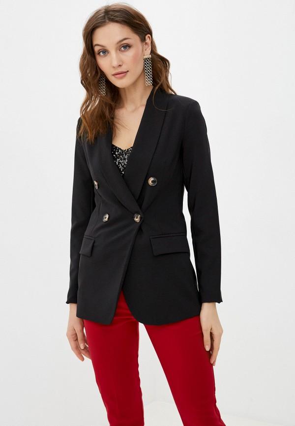 женский пиджак tantra, черный