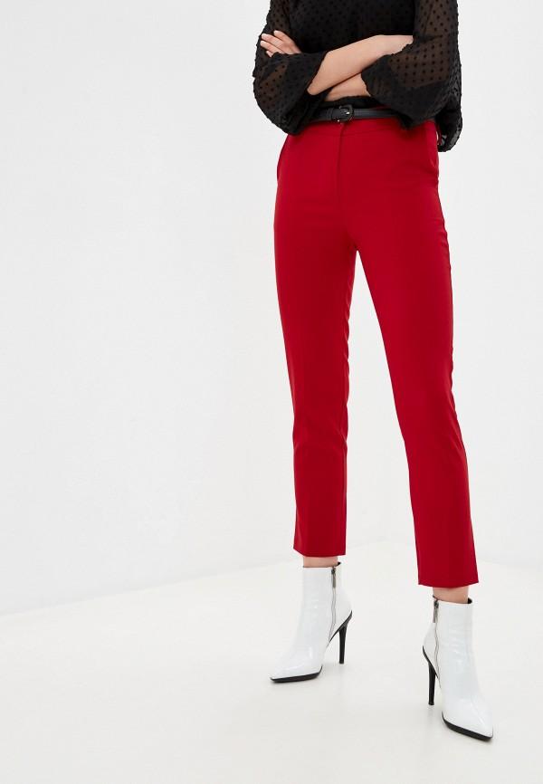 женские повседневные брюки tantra, красные