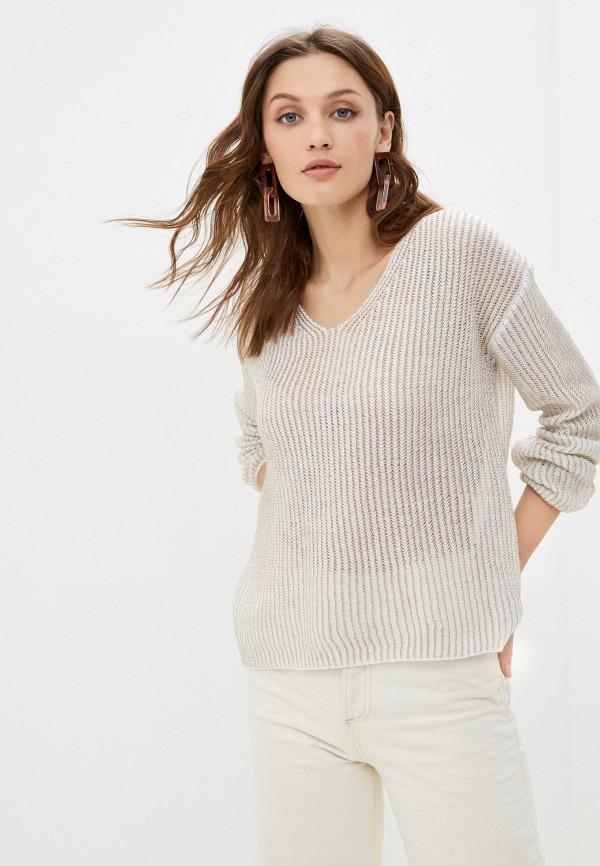женский пуловер tantra, белый