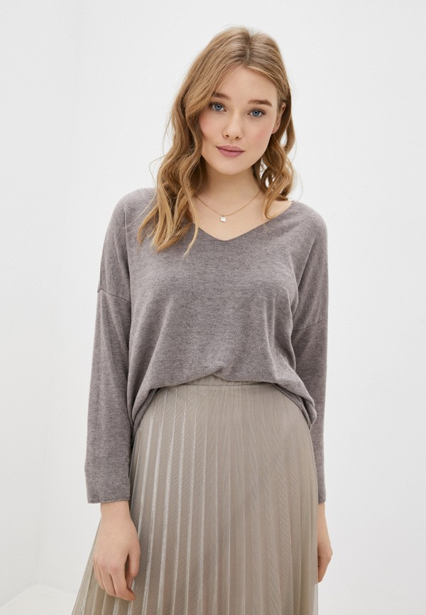 женский пуловер tantra, серый