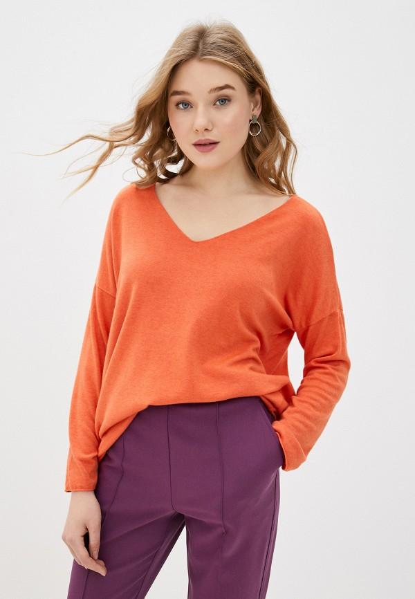женский пуловер tantra, оранжевый
