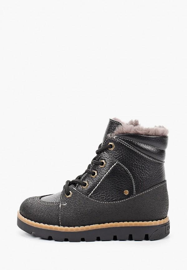 ботинки tapiboo для мальчика, черные