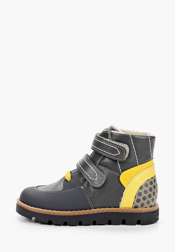 ботинки tapiboo для мальчика, серые