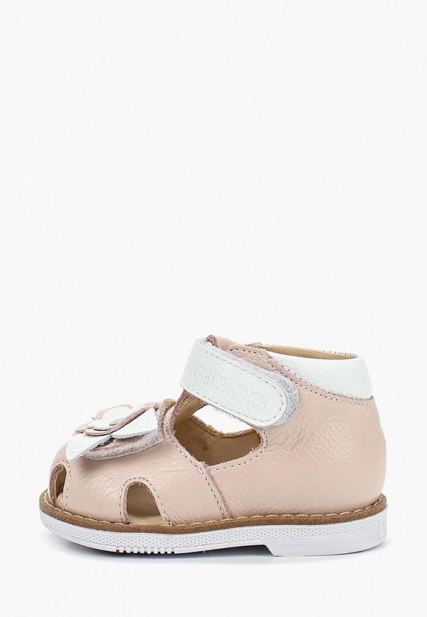 туфли tapiboo для девочки, розовые