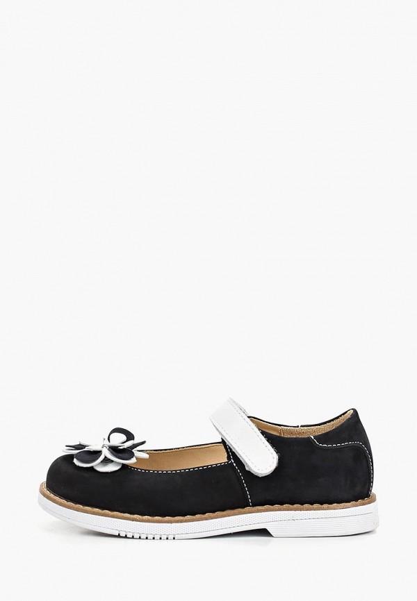 туфли tapiboo для девочки, черные
