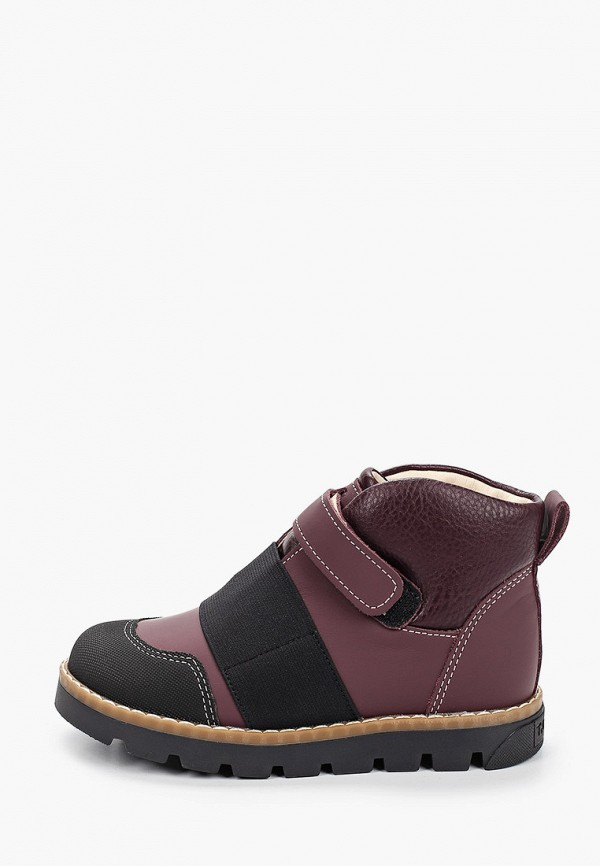 ботинки tapiboo для девочки, фиолетовые