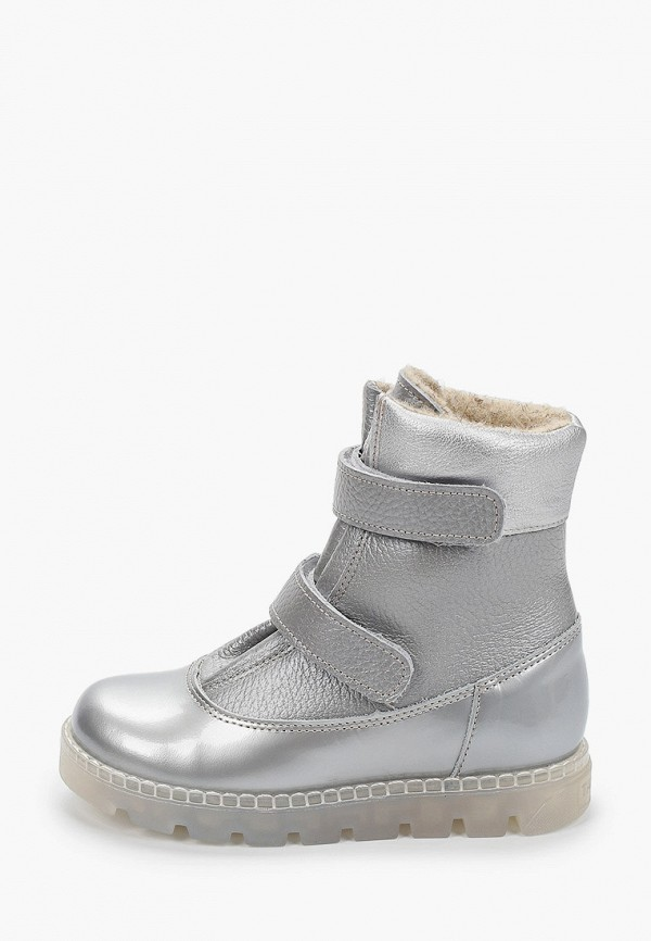 ботинки tapiboo для девочки, серые