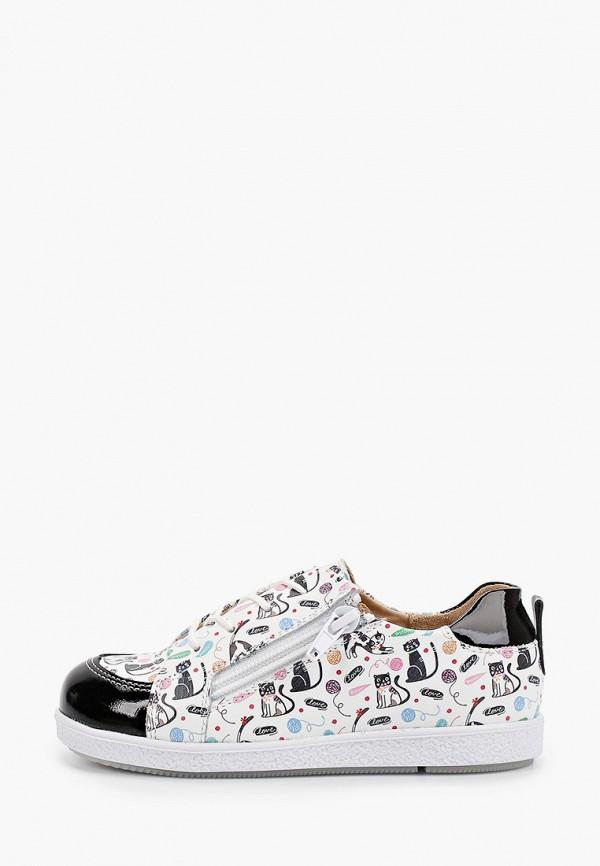 ботинки tapiboo для девочки, белые