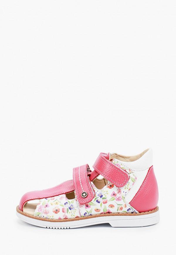 сандалии tapiboo для девочки, розовые