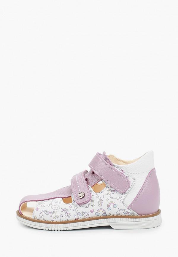 сандалии tapiboo для девочки, фиолетовые