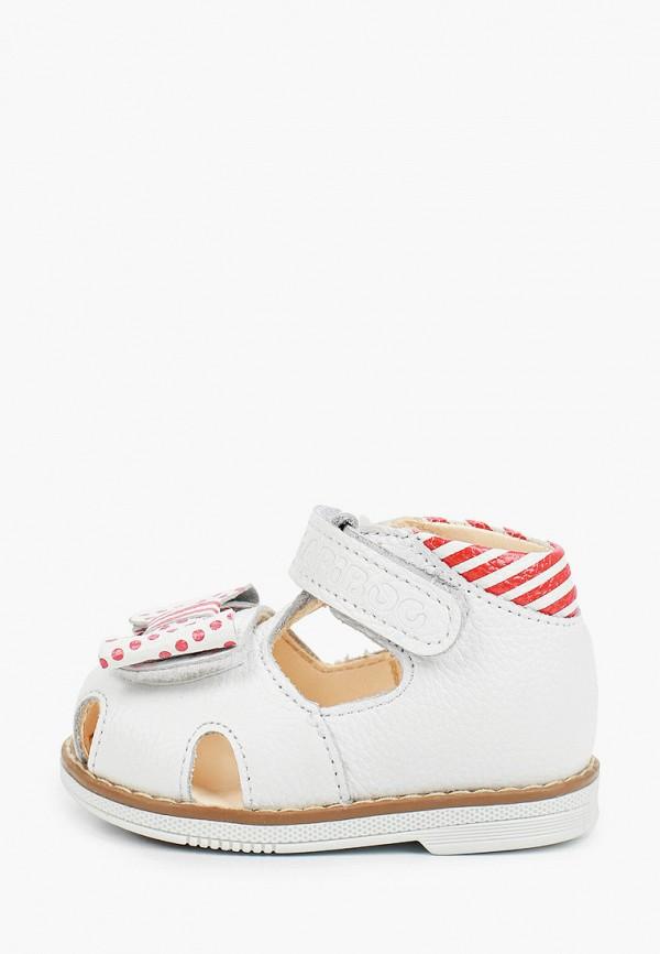 сандалии tapiboo для девочки, белые