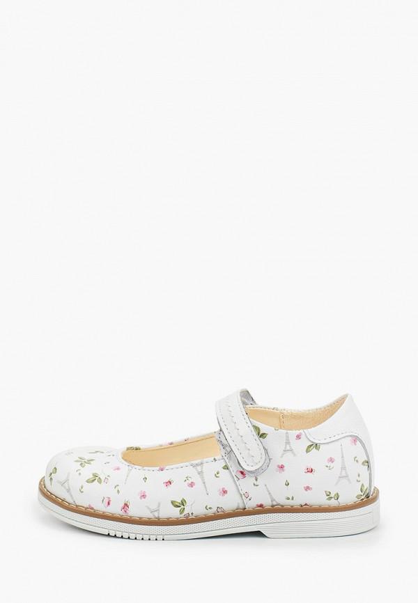 туфли tapiboo для девочки, белые