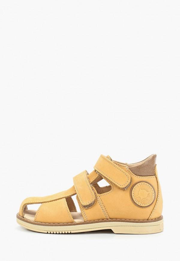 сандалии tapiboo малыши, желтые