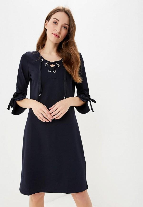 женское повседневные платье taifun, синее