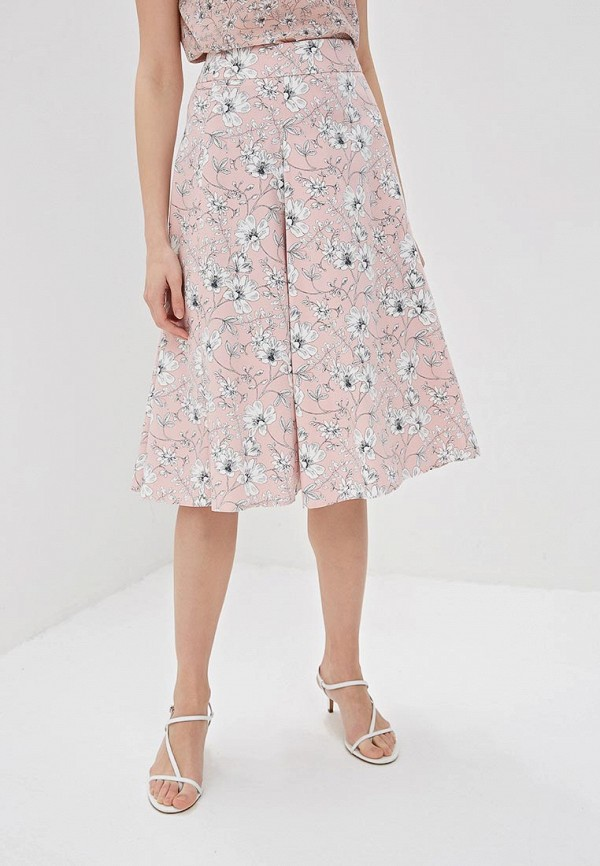 женская юбка taifun, розовая