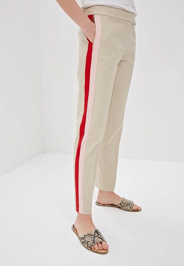 женские повседневные брюки taifun, бежевые