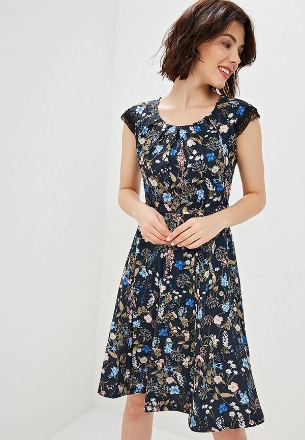 женское повседневные платье taifun, черное