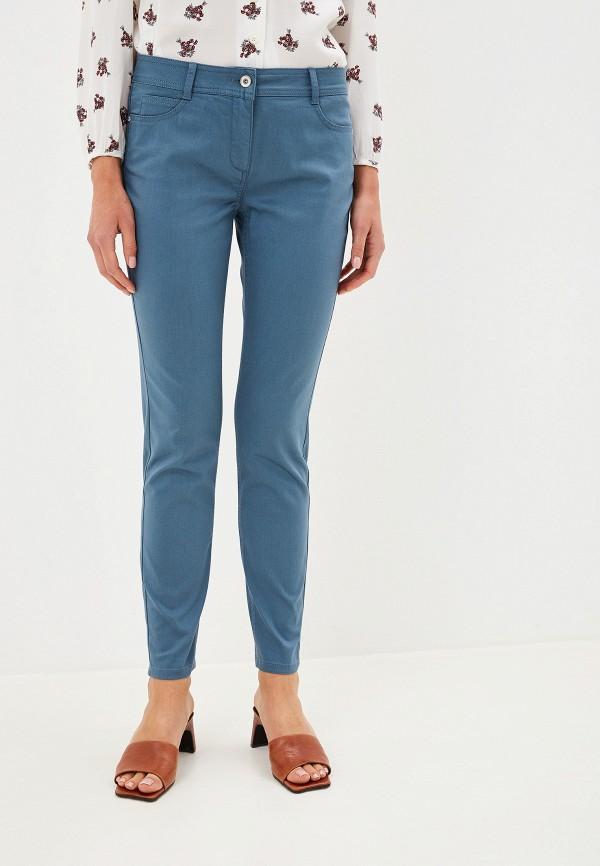 женские брюки taifun, синие