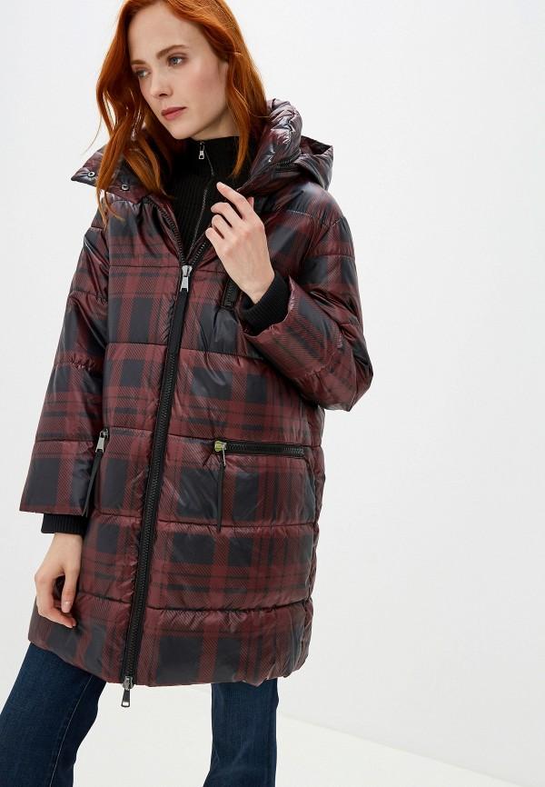 женская куртка taifun, бордовая