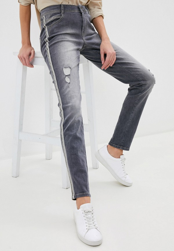 женские джинсы taifun, серые