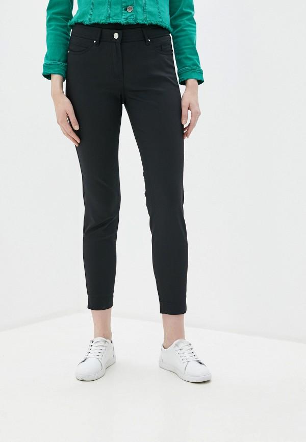 женские повседневные брюки taifun, черные