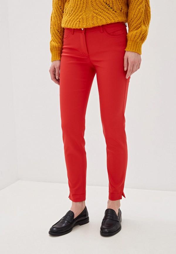 женские повседневные брюки taifun, красные