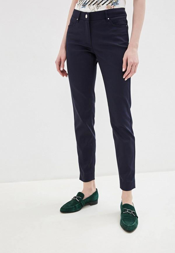 женские повседневные брюки taifun, синие