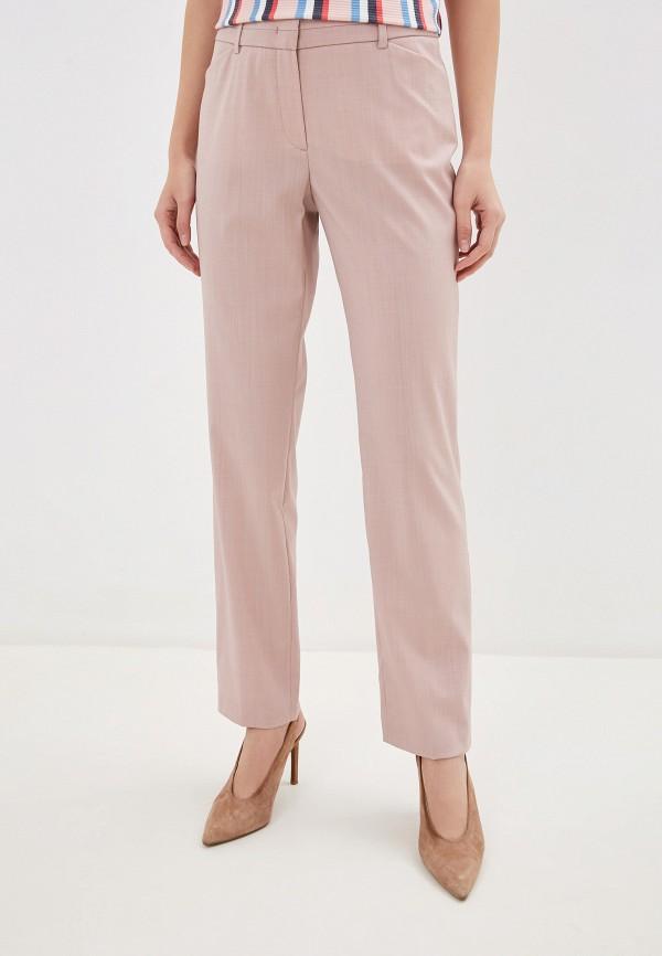 женские повседневные брюки taifun, розовые