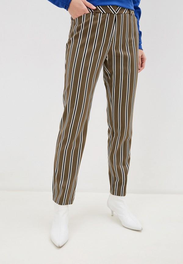 женские повседневные брюки taifun, хаки