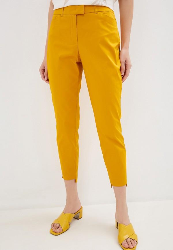 женские повседневные брюки taifun, желтые