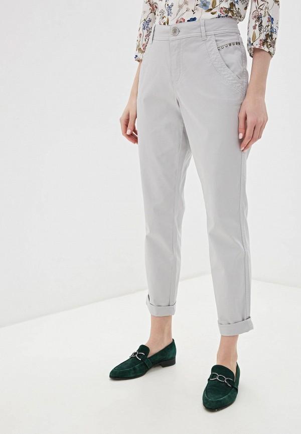 женские повседневные брюки taifun, серые