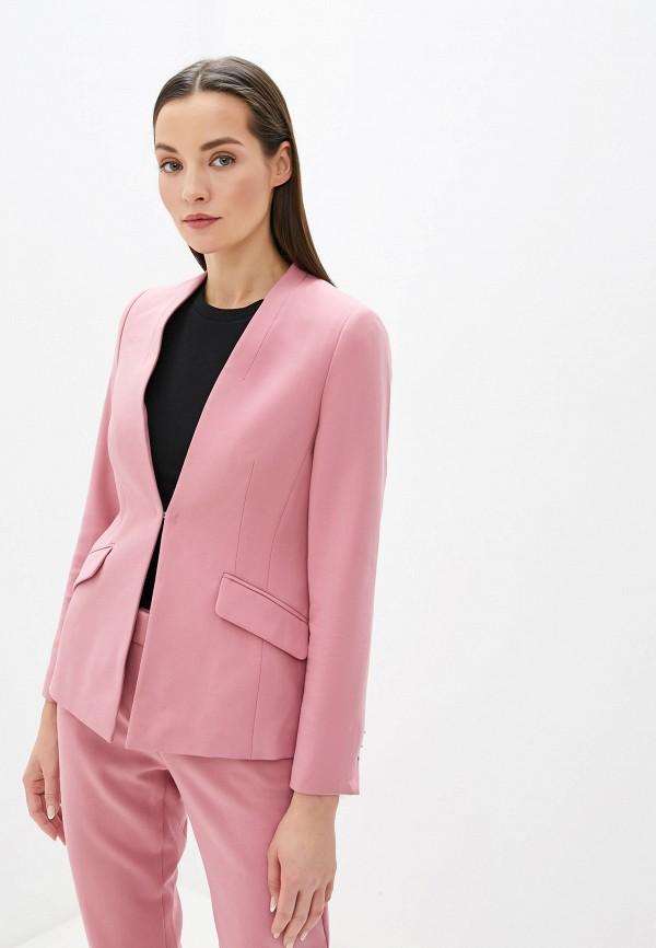 женский жакет taifun, розовый