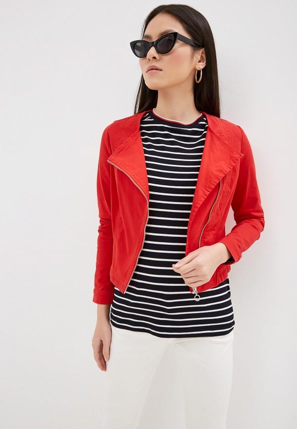 женская куртка taifun, красная