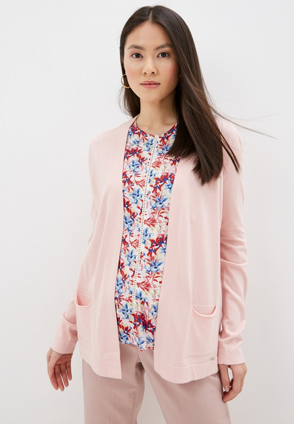 женский кардиган taifun, розовый