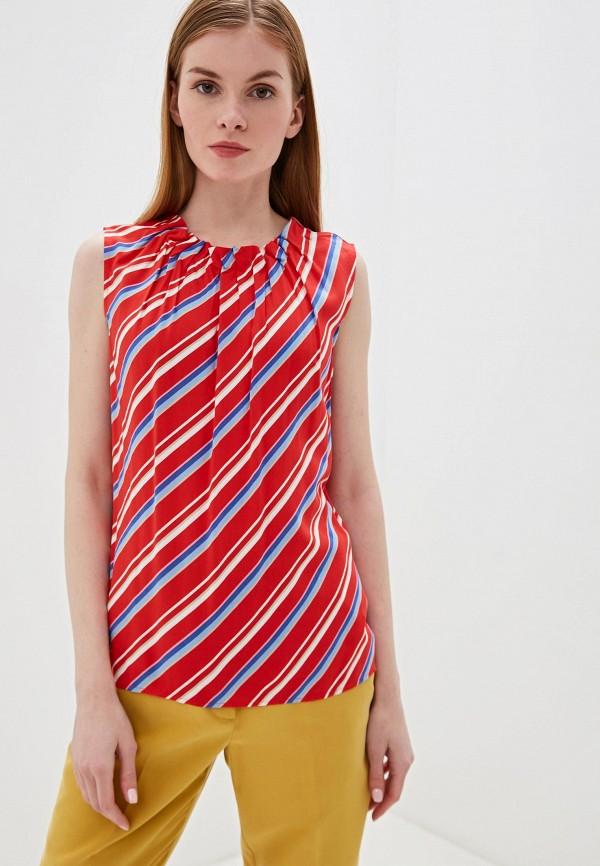 женская блузка taifun, красная