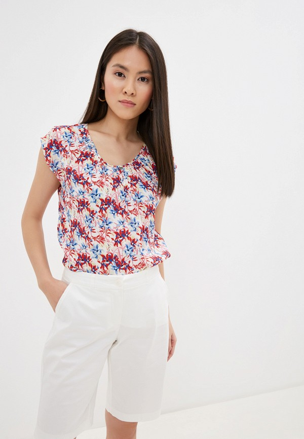 женская блузка taifun, разноцветная